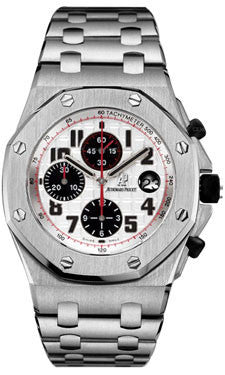 Audemars Piguet,Audemars Piguet - Royal Oak Offshore Chronograph - Stainless Steel - Watch Brands Direct