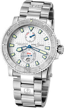 Ulysse Nardin,Ulysse Nardin - Marine Diver 42.7mm - Stainless Steel - Bracelet - Watch Brands Direct