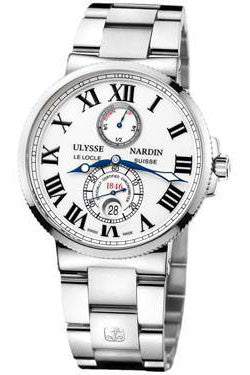 Ulysse Nardin,Ulysse Nardin - Marine Chronometer 43mm - Stainless Steel - Watch Brands Direct