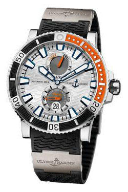Ulysse Nardin,Ulysse Nardin - Marine Diver 45mm - Titanium - Rubber Strap - Watch Brands Direct