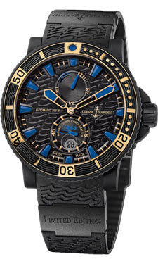 Ulysse Nardin,Ulysse Nardin - Marine Diver - Black Sea - Blue Sea - Limited Edition - Watch Brands Direct