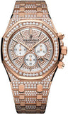 Audemars Piguet,Audemars Piguet - Royal Oak Chronograph 41mm - Pink Gold - Watch Brands Direct