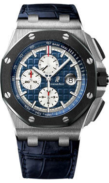 Audemars Piguet,Audemars Piguet - Royal Oak Offshore Chronograph - Platinum - Watch Brands Direct