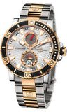 Ulysse Nardin,Ulysse Nardin - Marine Diver 45mm - Titanium and Rose Gold - Watch Brands Direct