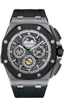 Audemars Piguet,Audemars Piguet - Royal Oak Offshore Chronograph - Titanium - Watch Brands Direct