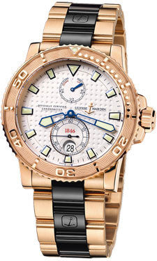 Ulysse Nardin,Ulysse Nardin - Marine Diver 42.7mm - Rose Gold - Watch Brands Direct