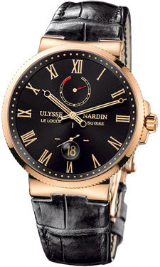 Ulysse Nardin,Ulysse Nardin - Marine Chronometer 43mm - Rose Gold - Limited Edition - Watch Brands Direct