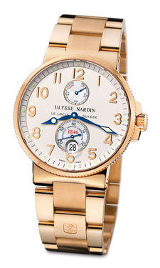 Ulysse Nardin,Ulysse Nardin - Marine Chronometer 41mm - Rose Gold - Watch Brands Direct