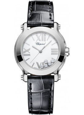 Chopard,Chopard - Happy Sport - Round Mini - Stainless Steel - Watch Brands Direct