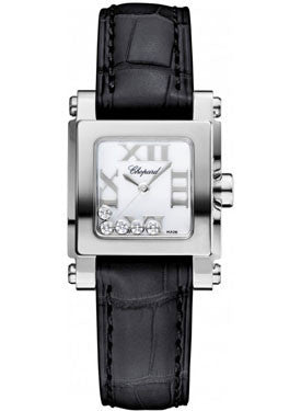 Chopard,Chopard - Happy Sport - Square Mini - Stainless Steel - Watch Brands Direct