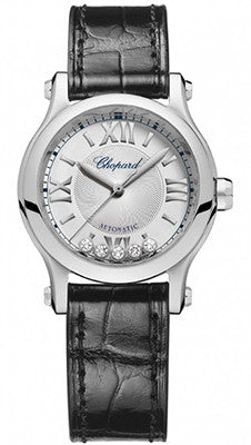 Chopard - Happy Sport Automatic - Round Mini 30mm - Stainless Steel - Watch Brands Direct