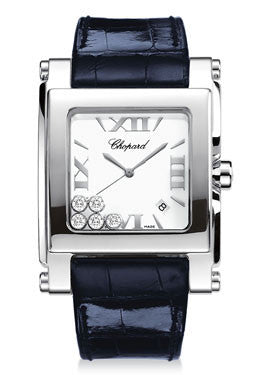 Chopard,Chopard - Happy Sport - Square Extra Large - Stainless Steel - Watch Brands Direct