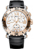 Chopard,Chopard - Happy Sport - Chrono - Stainless Steel and Rose Gold - Watch Brands Direct