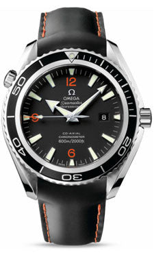 Omega,Omega - Seamaster Planet Ocean 600 M Co-Axial 45.5 mm - Stainless Steel - Rubber Strap - Watch Brands Direct