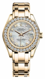 Rolex - Datejust Pearlmaster Lady Yellow Gold - Watch Brands Direct  - 12