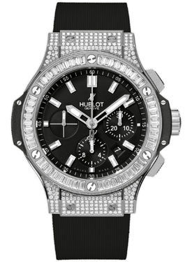 Hublot,Hublot - Big Bang 44mm Evolution Stainless Steel Diamonds - Watch Brands Direct