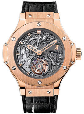 Hublot,Hublot - Bigger Bang Tourbillon 44mm Red Gold Minute Repeater - Watch Brands Direct