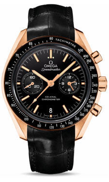 Omega,Omega - Speedmaster Moonwatch Co-Axial Chronograph 44.25 mm - Orange Gold - Watch Brands Direct
