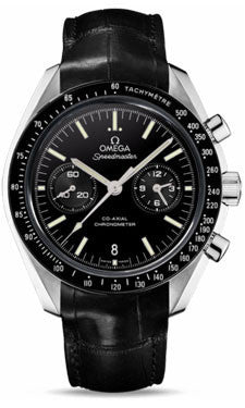 Omega,Omega - Speedmaster Moonwatch Co-Axial Chronograph 44.25 mm - Platinum - Watch Brands Direct