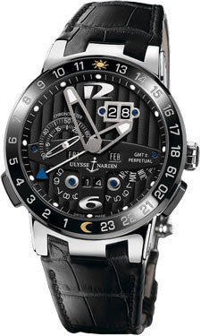 Ulysse Nardin,Ulysse Nardin - El Toro - Black Toro - White Gold - Watch Brands Direct