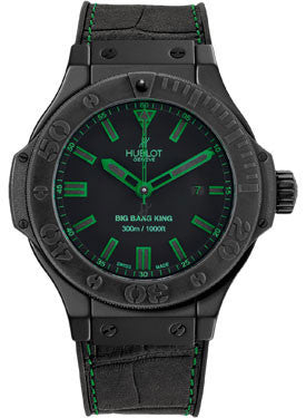 Hublot,Hublot - Big Bang King 48mm All Black Green - Watch Brands Direct