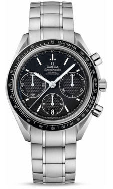 Omega,Omega - Speedmaster Racing Co-Axial Chronograph 40 mm - Stainless Steel - Watch Brands Direct