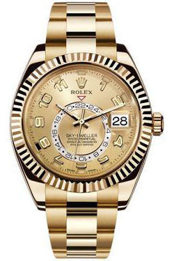 Rolex - Sky-Dweller Yellow Gold - Watch Brands Direct  - 1