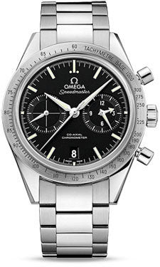Omega,Omega - Speedmaster 57 Omega Co-Axial Chronograph 41.5 mm - Stainless Steel - Watch Brands Direct
