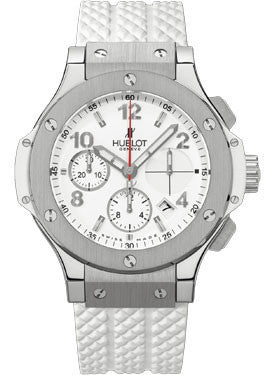 Hublot,Hublot - Big Bang 41mm Stainless Steel White - Watch Brands Direct