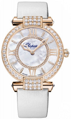 Chopard - Imperiale - Automatic 36mm  - Rose gold and Diamonds - Watch Brands Direct