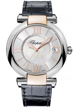 Chopard,Chopard - Imperiale - Automatic 40mm - Stainless Steel and Rose Gold - Watch Brands Direct