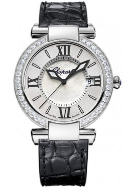 Chopard,Chopard - Imperiale - Quartz 36mm - Stainless Steel - Diamond Bezel - Watch Brands Direct