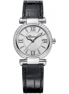 Chopard,Chopard - Imperiale - Quartz 28mm - Stainless Steel - Diamond Bezel - Watch Brands Direct