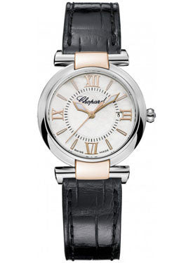 Chopard,Chopard - Imperiale - Quartz 28mm - Stainless Steel and Rose Gold - Watch Brands Direct