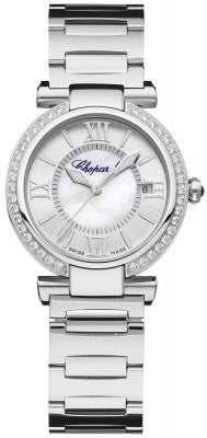 Chopard - Imperiale Automatic - 29mm - Stainless Steel and Diamonds - Watch Brands Direct