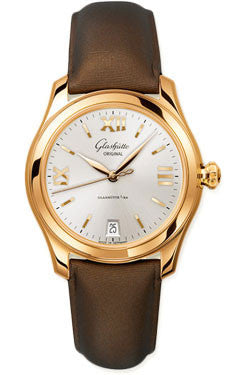 Glashutte Original,Glashutte Original - Ladies Collection - Serenade - Rose Gold - Silver - Watch Brands Direct