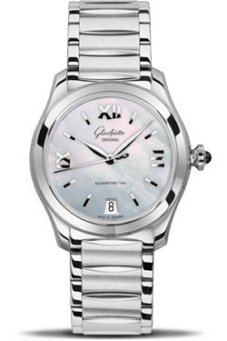 Glashutte Original,Glashutte Original - Ladies Collection - Serenade - Stainless Steel - Mother of Pearl - Watch Brands Direct