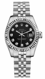 Rolex - Datejust Lady 26 - Steel Fluted Bezel - Watch Brands Direct  - 3