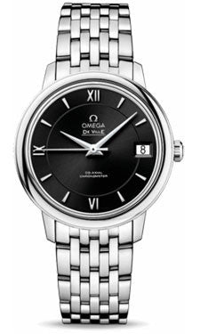 Omega,Omega - De Ville Prestige Co-Axial 32.7 mm - Stainless Steel - Watch Brands Direct