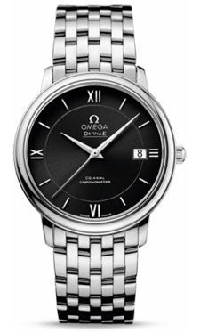 Omega,Omega - De Ville Prestige Co-Axial 36.8 mm - Stainless Steel - Watch Brands Direct