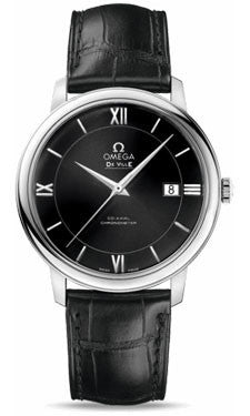 Omega,Omega - De Ville Prestige Co-Axial 39.5 mm - Stainless Steel - Watch Brands Direct