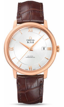 Omega,Omega - De Ville Prestige Co-Axial 39.5 mm - Red Gold - Watch Brands Direct