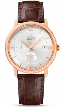 Omega,Omega - De Ville Prestige Co-Axial Power Reserve 39.5 mm - Red Gold - Watch Brands Direct