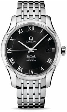 Omega,Omega - De Ville Co-Axial 41 mm - Stainless Steel - Watch Brands Direct