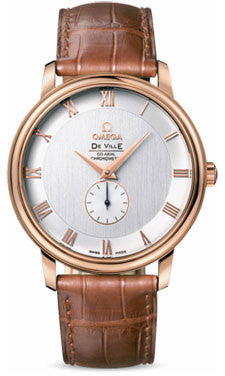 Omega,Omega - De Ville Prestige Co-Axial Small Seconds 39 mm - Red Gold - Watch Brands Direct