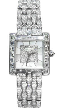 Patek Philippe,Patek Philippe - Gondolo Ladies - White Gold - 23 mm - Watch Brands Direct