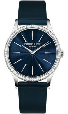 Patek Philippe,Patek Philippe - Calatrava 33mm - White Gold - Watch Brands Direct