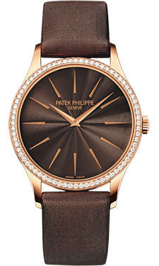 Patek Philippe,Patek Philippe - Calatrava 33mm - Rose Gold - Watch Brands Direct