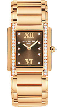 Patek Philippe,Patek Philippe - Twenty-4 Small - Rose Gold - Watch Brands Direct