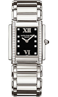 Patek Philippe,Patek Philippe - Twenty-4 Medium - Stainless Steel - Watch Brands Direct